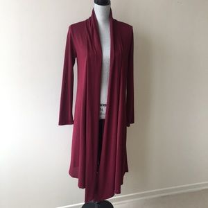 Knee length RAGS & COUTURE Cardigan